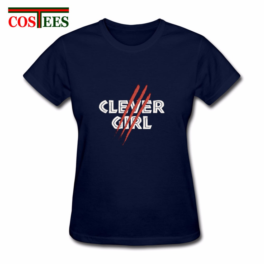 Grosshandel 2018 Vestido Clever Madchen T Shirt Frauen Femme Jurassic