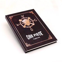 One Piece notebook anime One Piece figure High-grade hardcover kraft paper notebook free shipping