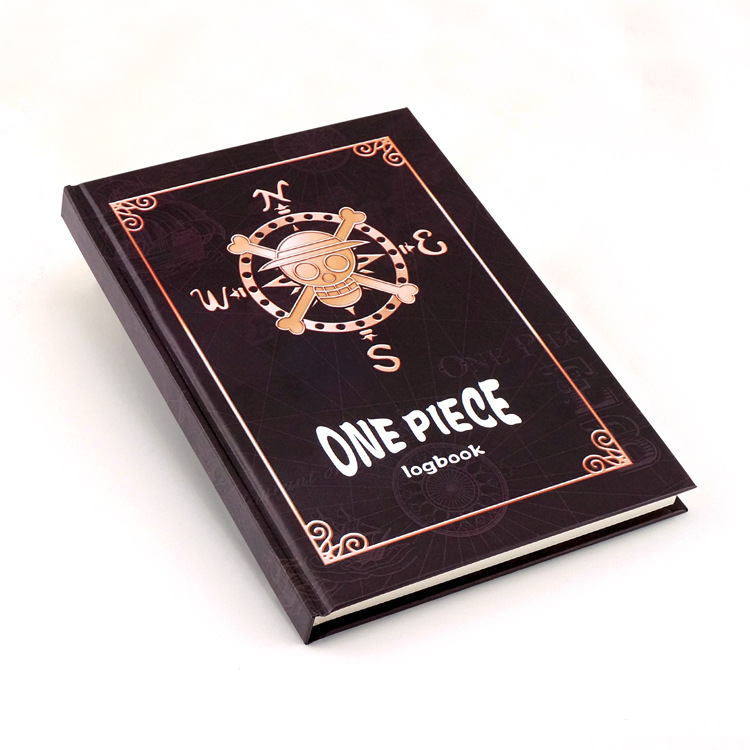 One Piece notebook anime One Piece figure High-grade hardcover kraft paper notebook free shipping<br><br>Aliexpress