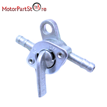 6mm Inline Petrol Fuel Tank Tap Petcock Switch for Dirt ATV Quad Pit Pro Buggy Bike @