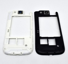 White black Middle Frame Housing Case Replacement Part Bezel For Samsung Galaxy S3 i9300 original
