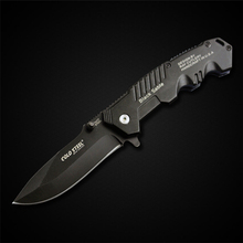 PEGASI Cold Steel Folding Blade Knife 7Cr17Mov Steel Camping Survival Knife Self-Defense Portable EDC Knives