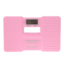 "150kg Weight Scale 2.1"" LCD Screen Pink Scale 330LB Electronic Digital High Precision Bathroom Weight Body Scale"