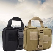 WASPORT Medicine Bag Empty Bag Emergency Kits First Aid Kit Military Camouflage Fanny Pack Travel Tactical Molle Pouches Pouch(China)