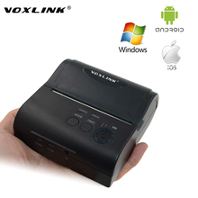Protable 80MM Thermal Bluetooth Receipt Printer,Wireless Bluetooth Printer for IOS Android Windows