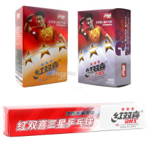 30 Pcs DHS 3-Star (3Star, 3 Star) 40mm Table Tennis (PingPong) Balls
