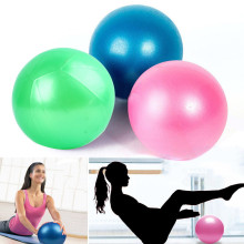 Jessica's Store Yoga Exercise Ball Gym Pilates Balance Exercising Fitness Air Pump Anti-Burst(China)