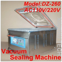 Vacuum Sealing Machine DZ-260 Single Chamber Vacuum Machine Desk Type Vacuum Packaging Machine Food Sealing Machine(China)