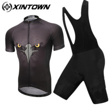 XINTOWN Cycling Jersey 2017 Eagle short  Pro Team Mens Summer MTB Bike Jersey Breathable Cozy Bicycle Jersey Cycling Clothing