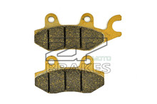 Motorbike Brake Pad Organic For CPI 125 Prince 2001- Front, 125 /300 X-Large 2011-2012 Front & Rear BRAKING NEW(China)