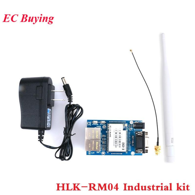 HLK-RM04 Embedded UART-ETH-WIFI wireless Router Development module Antenna