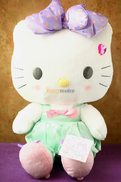 Fancytrader 17 40cm Limited Edition! Copyrighted Plush Stuffed Hello Kitty, 2 Colors! FT90386<br><br>Aliexpress