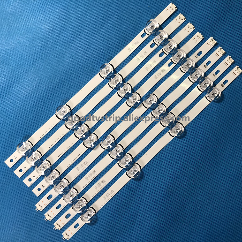 8pcs LED Strip for LG 42LF580V 42LB570V LC420DUE FG innotek DRT 3.0 42 A B type
