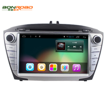 8' Quad Core 1024*600 Pure Android 6.0 2Din Car DVD For Hyunda IX35 Tucson 2009-2015 Car Radio RDS Video Player GPS Navigation