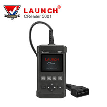 LAUNCH CReader 5001 OBD2 Auto Car Code Reader Read Vehicle Information Diagnostic Tools Car DIY Scanner(China)
