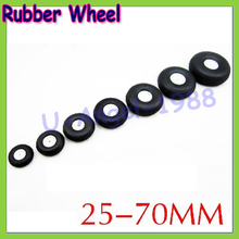 10pcs/lot High elastic rubber wheel for Rc Fixed-wing airplane(diameter 25/32/45/50/55/64/70/76MM ) can for DIY robot tires