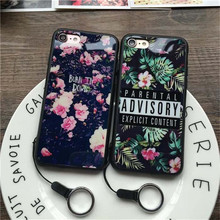 for Apple iPhone 8 Case Flower Mirror Phone Silicone Cover for iPhone 7 7 Plus capinha iPhone6 6s 6Plus 6s Plus 8 Plus Case 541C(China)