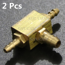 2 Pcs / lot Dental Chair Parts Gas controlled multi pass valve water vapor joint Stainless Steel Copper- Coatted