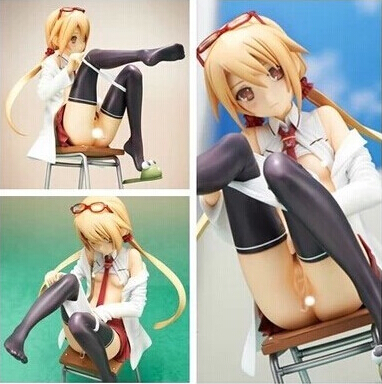 NEW hot 20CM sexy Native Creator Collection Science Teacher Suzuki Margit with Test Tube action figure toys Christmas with box<br>