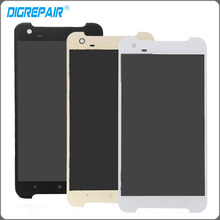 "5.5"" inch White Black Golden For HTC ONE X9 LCD Display Touch Screen Digitizer Assembly Replacement Parts(China)"