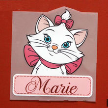 F288 Cute kitty character DIY pyrography garment printing printing manual stamping iron cloth patch applique patches