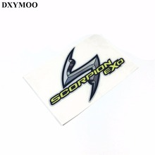 1PCS SCORPION EXO Car Sticker Decals for Mazda Hyundai Ford Car Motor Helmet
