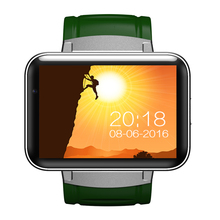 "DM98 Smart watch phone MTK6572 2.2"" HD Video Call Smartwatch Supports Android 4.4 OS SIM Card 3G WCDMA GPS Wifi Whatsapp Skype"