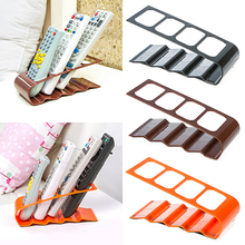 VCR DVD TV Remote Control CellPhone Stand Holder 4 Slots Storage Caddy Organiser Tools  8CDA