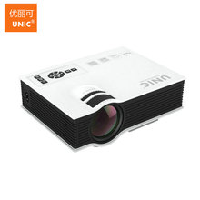 Original UNIC UC40 UC40+ 800X480Pixels Home LED Mini Projector,Perfect Cinema HDMI USB LCD HD Video Game Movie Proyector Beamer
