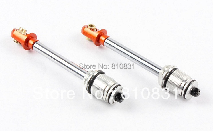 The rear 8mm all-metal shock absorber / shock absorber rod group  for 23cc 26cc 29cc baja  CNC<br><br>Aliexpress