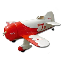 FlyFly Gee Bee 1036mm KIT without electric part Fiberglass & Wood RC model airplane