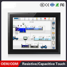 12.1 inch J1900  fanless touch screen all in one panel pc Wide Temperature Industrial Panel PC
