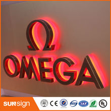 Aliexpress supplier advertising backlit LED letter sign(China)