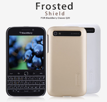 Case for blackberry classic q20 NILLKIN Super Frosted Shield with screen protector and package
