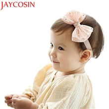 JAYCOSIN Turban Knot Head Wraps hair accessories Girl headband cute hair band newborn floral headband WJul27 drop Shipping