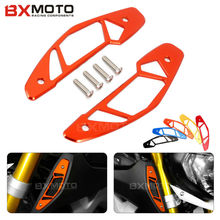 Fashion Motorcycle accessories Orange motorcycle Air Intake Covers For Yahama MT-09 MT09 2014-2015(China)
