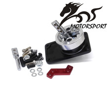 Stormcar ALUMINUM RACING SHORT THROW SHIFTER FOR 83-04 FORD MUSTANG T5 T-45 W/OD BLACK(China)