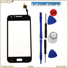 Buy Touch Screen Sensor Digitizer Samsung Galaxy J1 2015 J100 J100FN J100H J100F Front Panel LCD Display Outer Glass Lens Cover for $4.49 in AliExpress store