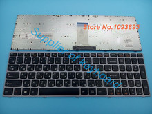NEW Russian keyboard for Lenovo B5400 M5400 B5400A M5400A laptop Russian keyboard MP-13C93SU-6861 25213392 Silver Frame