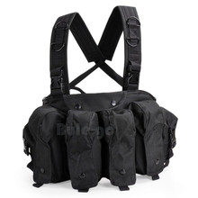 Army-Equipment Combat-Vest Chest Rig 47-Magazine-Carrier Airsoft Tactical Military Ammo