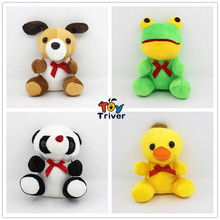 15cm Plush Dog Panda Duck Frog Toy Stuffed Doll Baby Toys Cheap Small Birthday Gift Present Triver