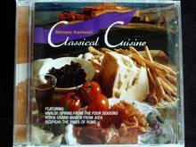 Mangia Italiano: Classical Cusine USA Original CD New Sealed - 41CD Store store
