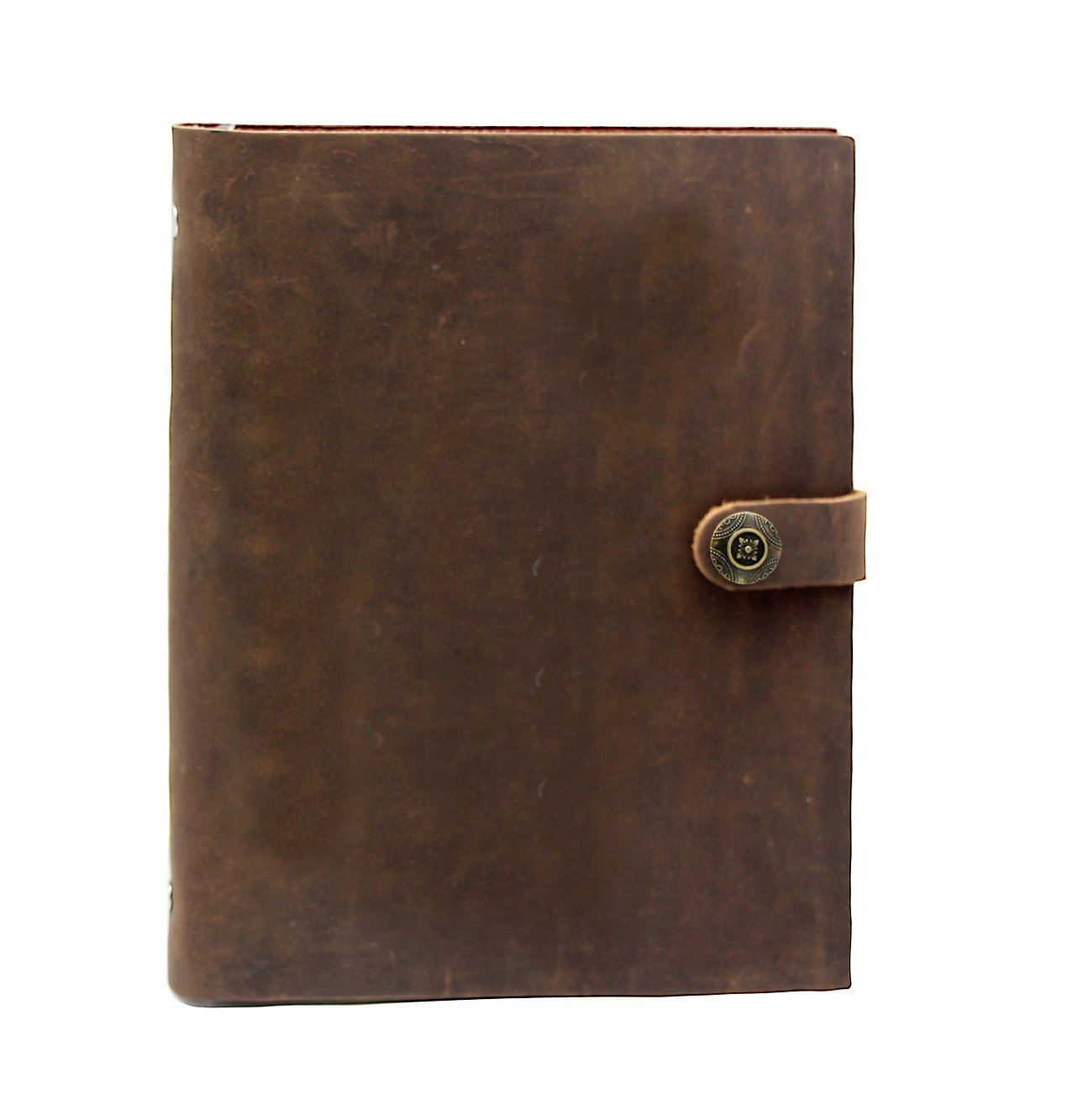 Old fashioned leather notebooks