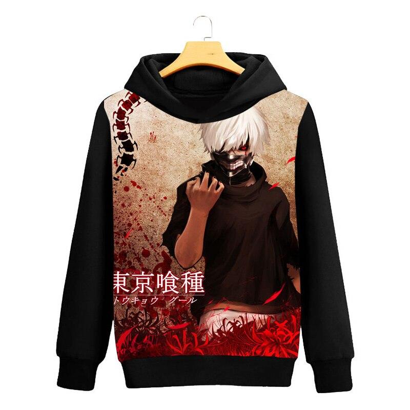 Tokyo Ghoul Cosplay Hoodie Ken Kaneki 3D Printed Casual Long Sleeve Men Spring Hip hop clothing Tops Luxtees (4)