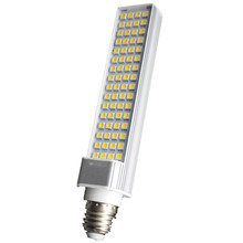 New Corn Bulb E27 9/11/12/14W  220V Pure / Warm White SMD 5050 44/52/60/64 LED Spot Light Bulb Lamp Flat Tube