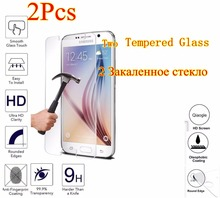 2Pcs Tempered Glass For Samsung Galaxy A3 A5 A7 A300 2016 A510 A310 S5 S6 J5 J7 j510 j710 Screen Protector sklo film phone case