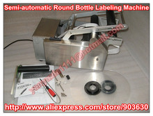 Wholesale 220V/110V Semi-automatic Manual Round Bottle Labeler Machine+stainless steel+wholesale priceMT-50(Bottle OD:15-100MM)