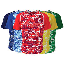Factory Sale Custom Sublimated Camo Colorful Baseball Jersey Men's & Women Baseball Match Team Wear Softball Shirt Jerseys