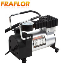Hot Portable Air Compressor Heavy Duty 12V 140PSI/965kPA Pump Electric Tire Inflator Car Care Tool Mini Tire Air Compressor(China)