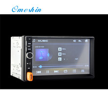 MP5 Player Touch Screen 7 Inch 2Din Car Stereo FM Radio USB SD Bluetooth fashion hot new styling 17july5(China)
